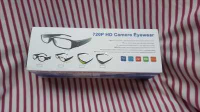 Mắt kính Camera 720p HD ngụy trang