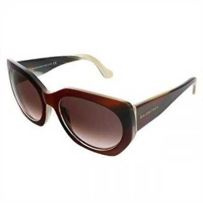Kính mát thời trang Sunglasses Balenciaga BA 17 light brown