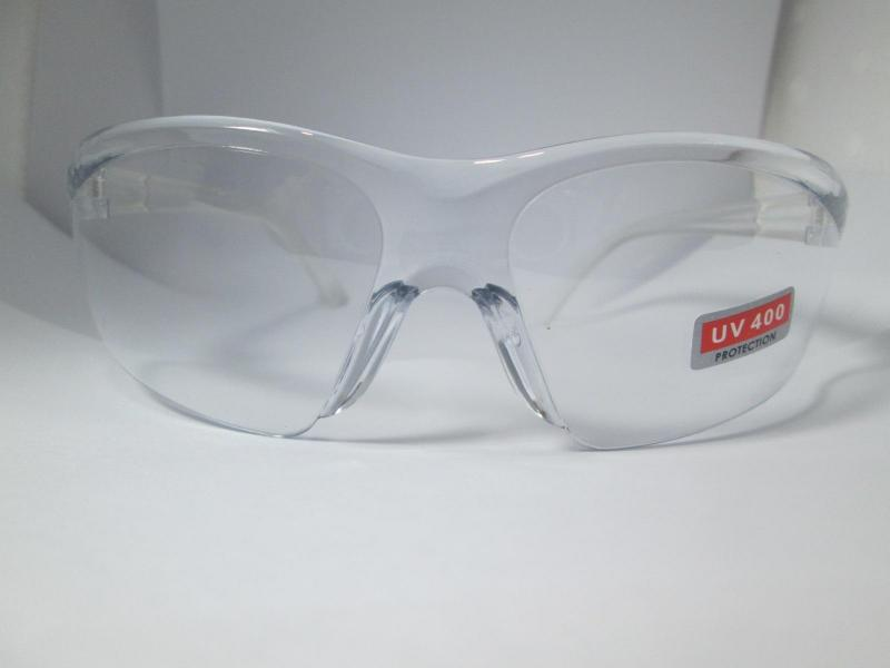 Mắt kính đi đường trong suốt - Kính bảo hộ chống bụi UV400