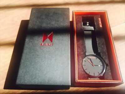 Đồng hồ MVMT Classic Black Black Leather