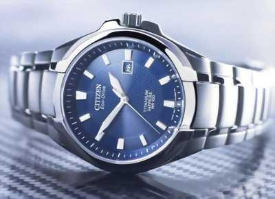 Đồng hồ Citizen Eco Drive Titanium