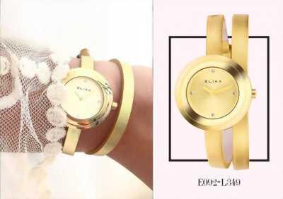 Đồng hồ Elixa nữ. Đơn giản nhẹ nhàng