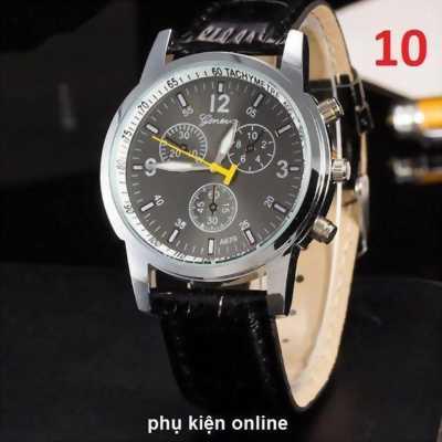 Đồng hồ Geneva chính hãng 100%