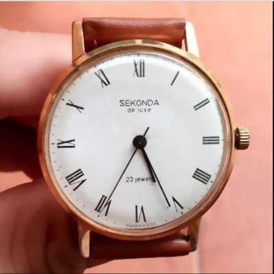Đồng hồ Seiko Lacke vàng