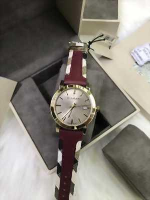 Các mẩu đồng hồ chính hảng burberry hàng 100% authentit