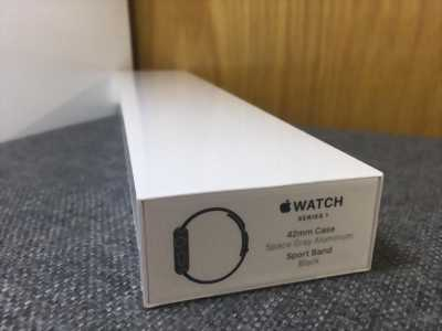 Apple watch series 1 gen 2 42mm Space Gray/Black (2016)