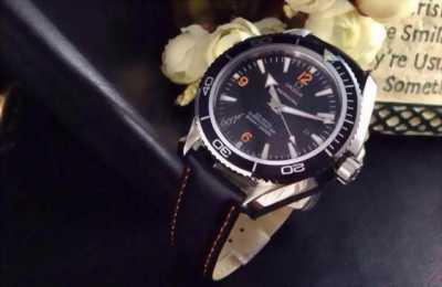 Đồng hồ nam Omega dây da OM007
