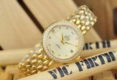 Đồng hồ Omega lady OM-8168 Full Gold