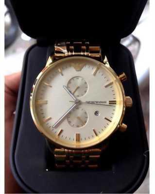 Đồng hồ cao câp nam Armani AR0386 Full Gold