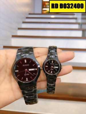 Đồng hồ cặp Rado mặt tròn một phong cách đẳng cấp và cá tính