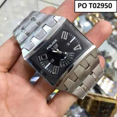 Đồng hồ nam dây inox trắng tôn vẻ lịch lãm pha chút cổ điển