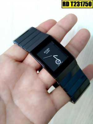 Đồng hồ nam dây đá ceramic đen phụ kiện lý tưởng làm nổi bật cá tính của bạn