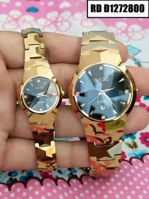 Đồng hồ đeo tay nam mặt tròn dây đá ceramic chất lượng cực đỉnh
