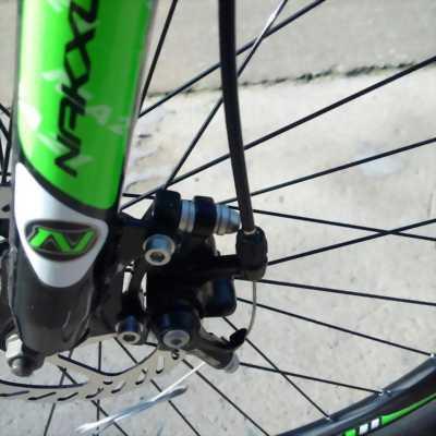 Xe đạp thể thao Naksux m21 sườn nhôm, 21 speed