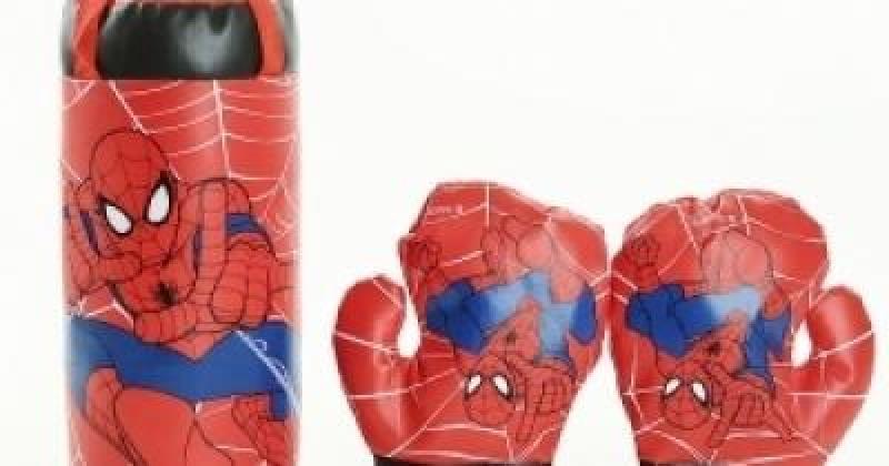 Bao bố tập boxing kèm găng tay