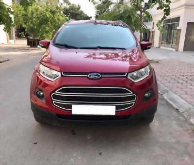 Cần bán gấp Ford EcoSport 2016 số sàn màu đỏ chính chủ
