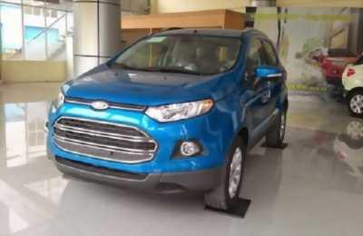 Bán Ford EcoSport Titanium 1.5P AT đời 2017, màu xanh lam
