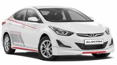 Hyundai Elantra 2018, màu trắng, các phiên bản