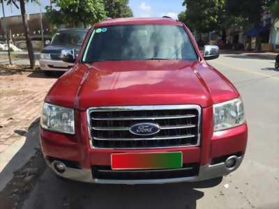Gia đình cần bán xe Everest 2009, số tự động máy dầu, màu đỏ mận cực đẹp