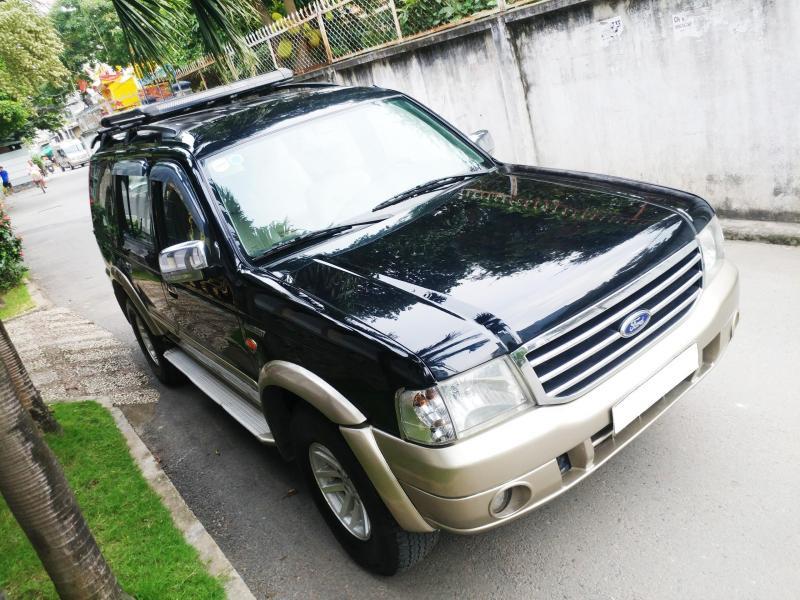 bán Everest sx2007, màu đen than, số sàn, máy dầu