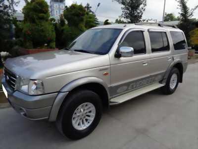 Gia đình cần bán xe Everest 2006, số sàn, máy dầu, màu xám,