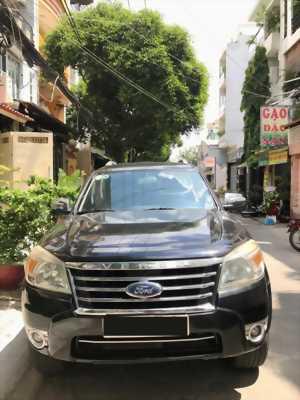 Bán xe số tự động Ford Everest AT Limited đời 2010, màu đen giá siêu rẻ