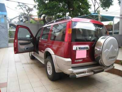 Cần bán xe Ford Everest 2006 mt dầu, màu đỏ ở TPHCM