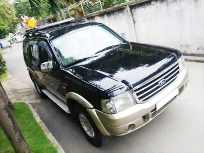Cần tiền bán Ford Everest sx 2007, màu đen than, số sàn, máy. nhà đậu là nhiều ít sử dụng, odo mới 65.000km.