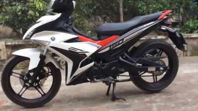 Yamaha exciter 150 trắng đỏ 2017 bs 71 bến tre