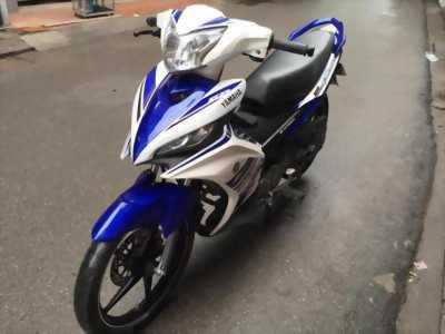 Mình cần bán xe Yamaha Exciter 135, màu trắng xanh, GP chính chủ BSTP