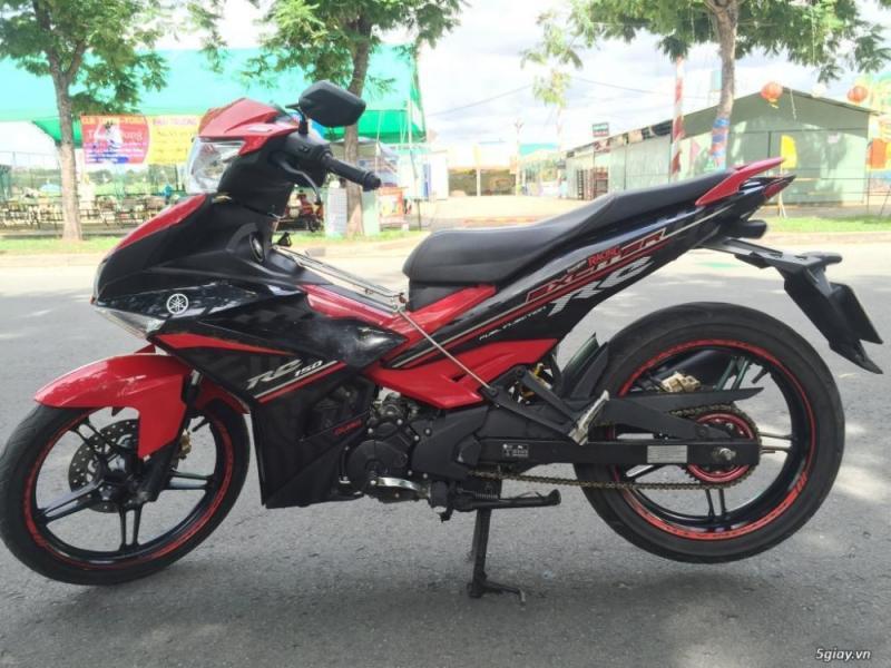 Bán xe Exciter 150cc đen đỏ 2015