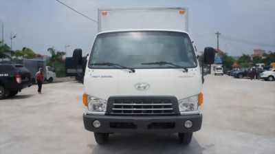 Xe tải hyundai HD700 tải trọng 7 tấn thùng bạt giá rẻ, hỗ trợ góp 90%
