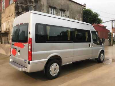 Cần bán xe Transit 2017, màu bạc, số sàn, máy dầu