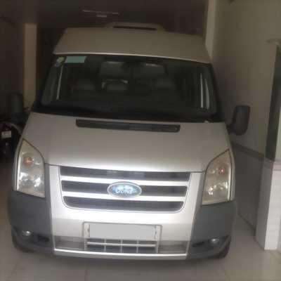 Cần bán xe Ford Transit 2010 máy dầu, số sàn, 16 chỗ ngồi