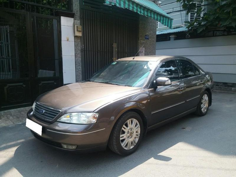 Gia đình cần bán Ford Mondeo 2005 at Full option, màu xám
