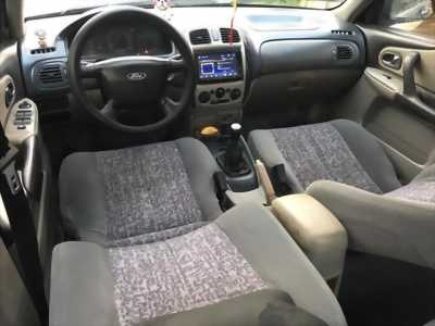 Cần bán Ford laser 2002, số sàn, còn mới , màu xanh