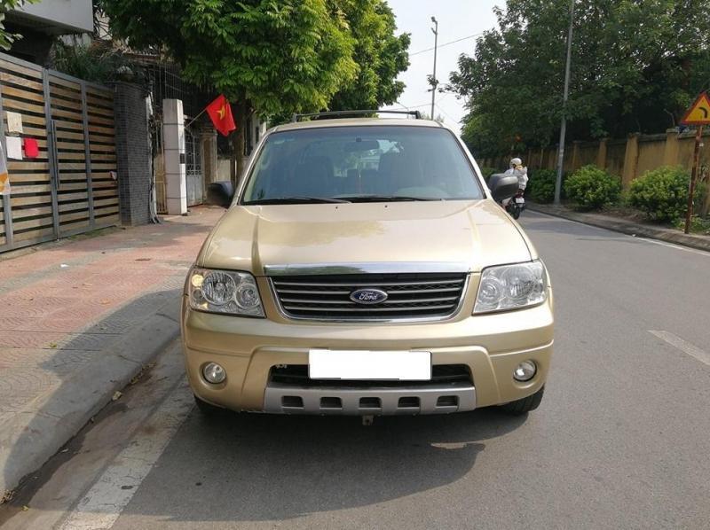 Cần bán Ford Escape 2007, 3.0L Số tự động, màu Vàng Cát.