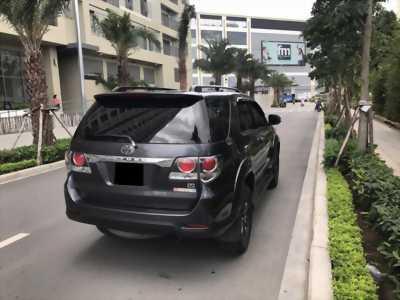 Bán Toyota Fortuner 2016 tự động xám chì xe gia đình chính chủ