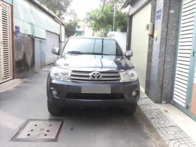 Cần bán xe Toyota Fortuner 2.5MT 2010 máy dầu màu Xám chì