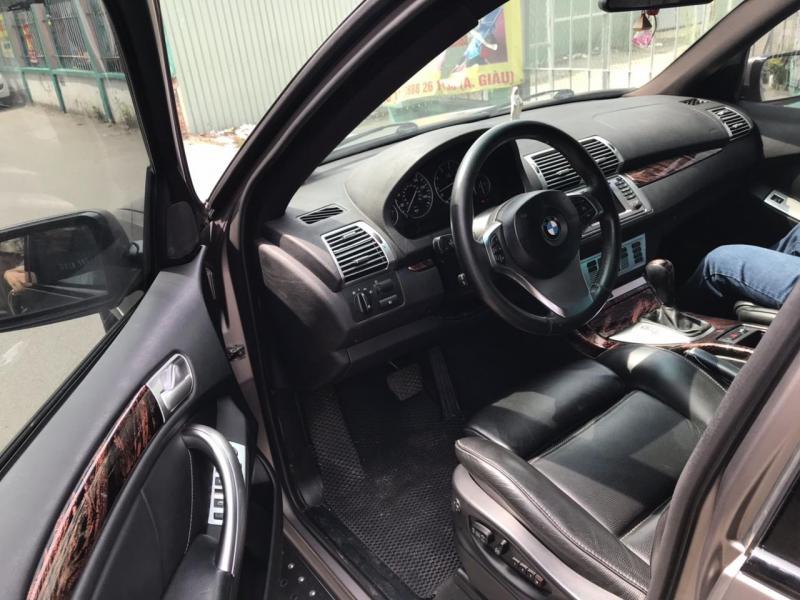 Cần bán xe BMW X5 2006 màu xám chì tự động full option