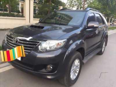Cần bán xe Toyota Fortuner 2014 dầu màu xám, TPHCM