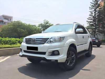 cần tiền bán xe  Fortuner TRD 2016 tự động , máy xăng, màu trắng.