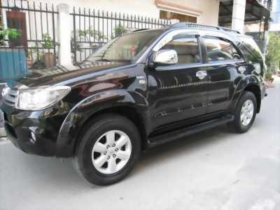 Bán Fortuner G máy dầu 2010 màu đen xe như con cọp