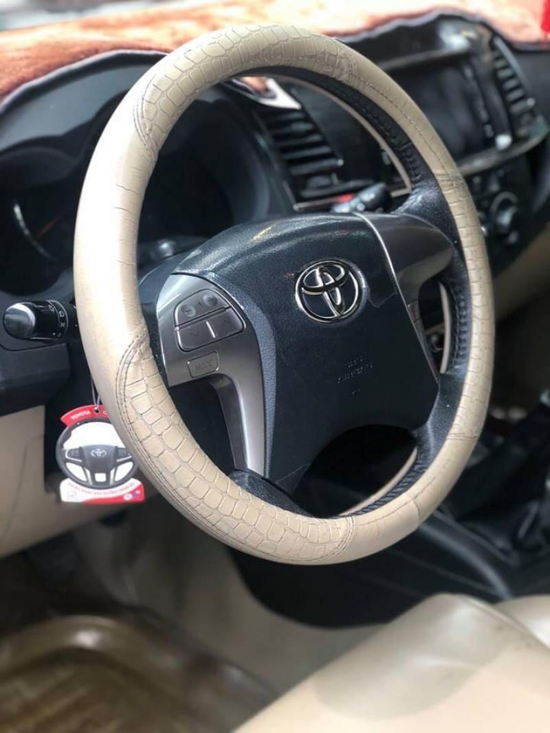 bán xe Fortuner G 2015 số sàn, màu bạc, máy dầu