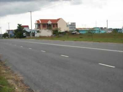 Gia đình chia tài sản, Sang 756m2(28x27m) đất thổ cư mặt tiền đường nhựa 25m chỉ 113 triệu