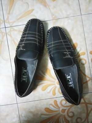 Giày H-T nam, nâu đen, size 39 share lại cho anh em!