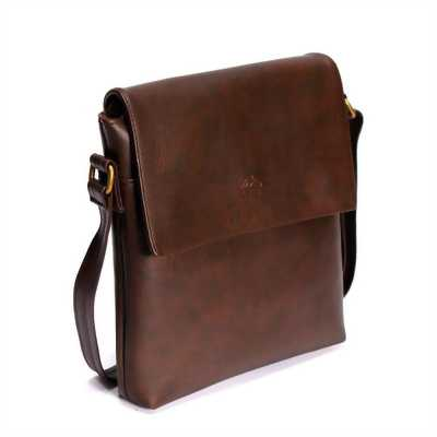 Túi đeo chéo LATA IP00 (Da nâu)