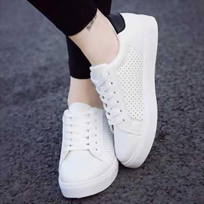 Giày Sneaker nam có lỗ thoáng khí cao cấp