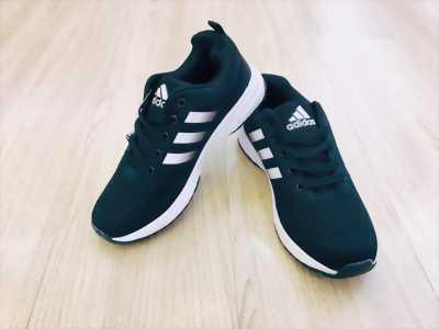 Giày adidas nam ba vạch màu đen size40,41 new100%