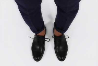 Giày tây oxford đen size 42-43